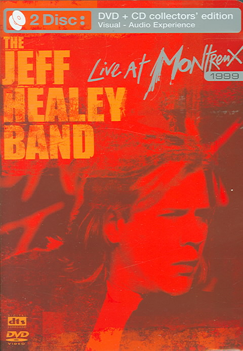 LIVE AT MONTREUX 1997-99 BY JEFF HEALEY BAND (DVD)